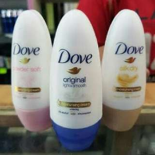 Dove Roll On Deodorant Original 40ml