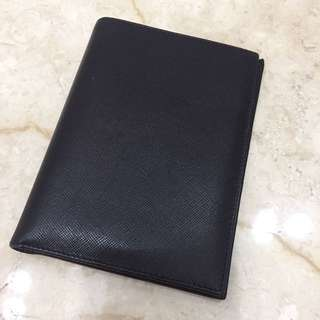 Prada passport holder