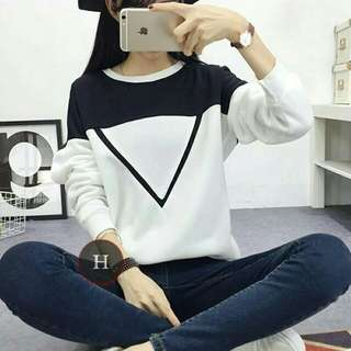 Hx SWEATER VIDA WHITE TERMURAH