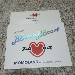[FULLY RESERVED] MOMOLAND GREAT