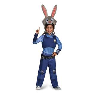 Disney Zootopia Kids'  Costume Judy Hopps Oufit for Girls Party Disney On Ice event Birthday gift