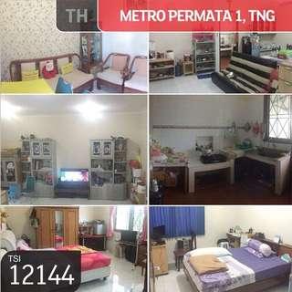 Rumah Metro Permata 1, Karang Tengah, Tanggerang, 8x20m, 2lt, SHM