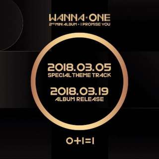 (FREE POSTER) Wanna One - (O+I=I) I Promise You