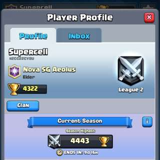 2 Clash Royale Accounts ($60 for both)
