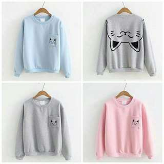 Cat Back    Bahan babyttery fit to L