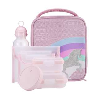 7 Piece Unicorn Lunch Set (PO)