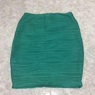Green Figure Skirt