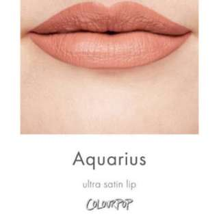 Colourpop Aquarius Liquid Lipstick (Ultra Satin)