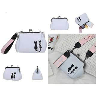 Tas import Size 19*23 Bahan pu leather