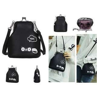 Tas import Size 16*14 Bahan punya leather
