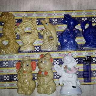 Paket 8 pcs boneka keramik