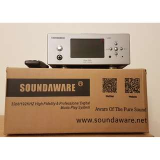Soundaware A280C HiFi 32Bit/192KHz Pure DSD Music Player Independent DAC Headphone Amplifier