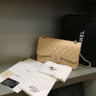 Chanel Caviar Jumbo Flap