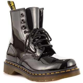 🚚 Dr Martens Patent Lamper Boots
