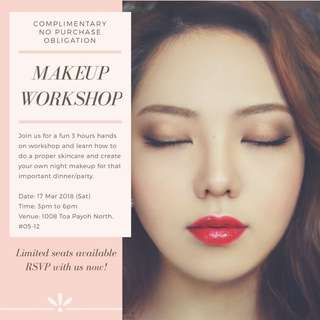 Learn to create your own evening makeup
