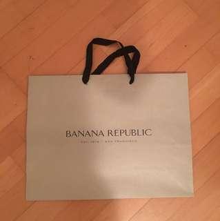 Banana Republic 紙袋