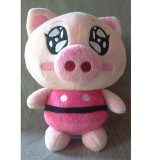 Pink pig stuffed toy