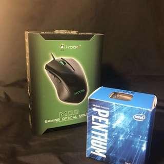 i-rocks M09 & intel PENTIUM G4560 合買 再減折價!
