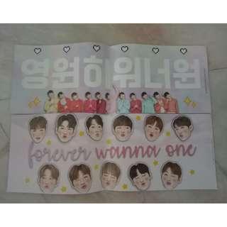 WANNA ONE banner