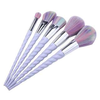 (BN) Unicorn Makeup Brush Set