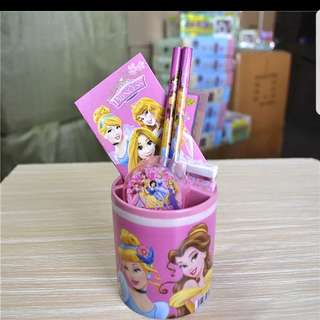Disney Princess Stationery Set Holder