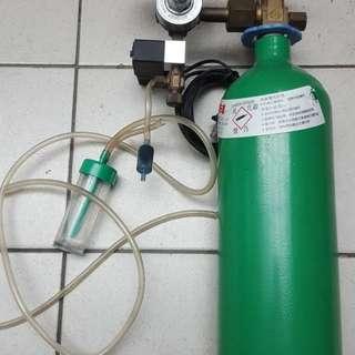 水族專用二氧化碳鋼瓶組