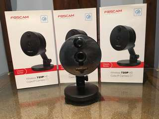 Foscam C1 Security Camera * 3