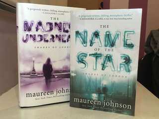 Maureen Oliver's Shades of London (The Name of the Star and The Madness Underneath)