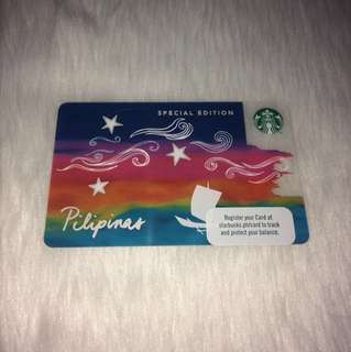 Limited Starbucks Card