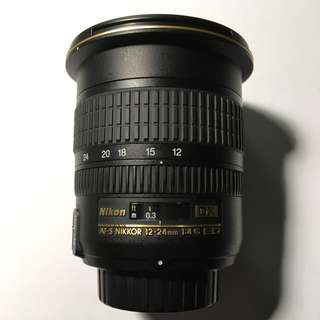Nikon 12-24mm F4 G ED IF