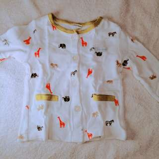Carter's Baby Top with Elephants