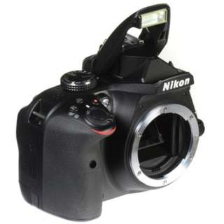Nikon D3400 DSLR Camera - [Body Only, Black]