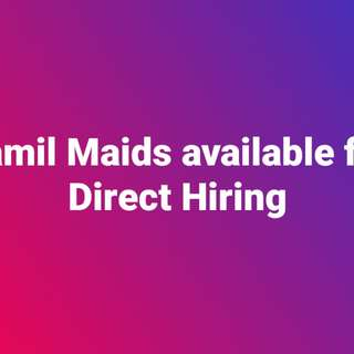 Tamil Maids available for Direct Hiring/ Direct Hire
