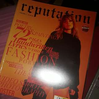 FREE SF reputation magazine volume 1 - Taylor Swift!