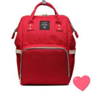 ❤: On-hand: Baby Diaper Bag / Mommy Nursing Bag ( Red )