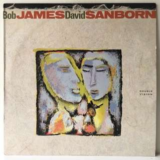 Bob James, David Sanborn ‎– Double Vision (1986 USA Original - Vinyl is Mint)