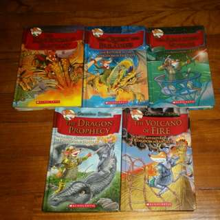 Geronimo Stilton: The Kingdom of Fantasy Series