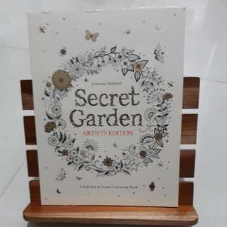 Secret Garden Artist's Edition Adult Coloring Book