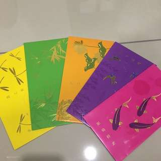 Ang bao set of 5