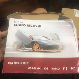 FM & MP3 car stereo receiver