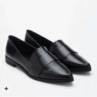 Forever21 Faux leather loafers