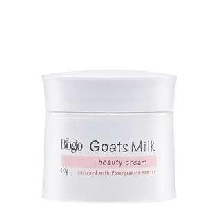 [Bioglo] Goats Milk With Pomegranate Extract Beauty Cream 40g