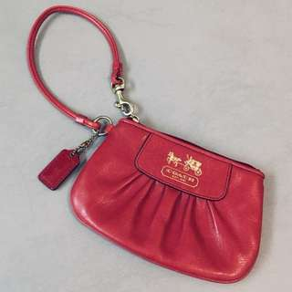 Coach Leather Clutch Purse