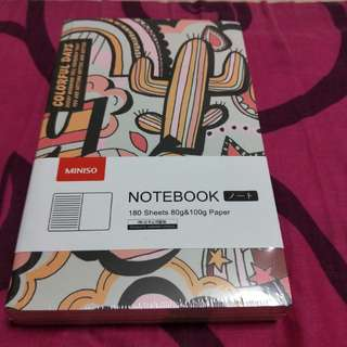 Miniso notebook 180 sheets