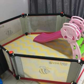 Baby Playpen Vee Bee by Valco