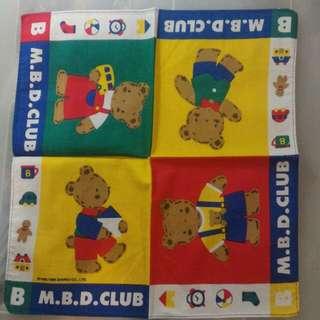 M.B.D. Club 手巾