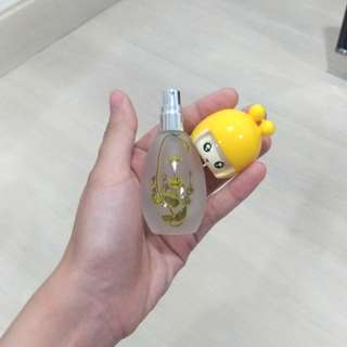Set of 6 Cute Japanese Empty perfume bottles