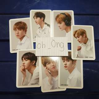 [WTS/WANNA ONE] Official Mobifren photocards