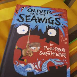 Oliver and the seawig novel