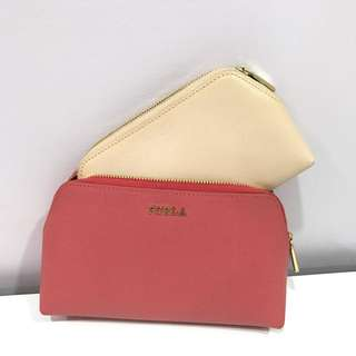 🆕 Pouch Furla 2 in 1 Italy Authentic